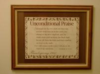 Unconditional Praise